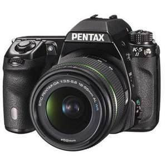 Reflex Pentax K5 II + 18-55 WR