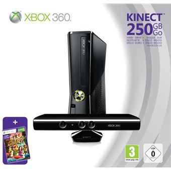 Console Xbox 360 250 Go + Kinect