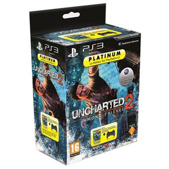 Uncharted 2 + Manette DualShock 3 sur PS3