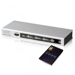 Commutateur HDMI Aten SVS481A-AT-G 4 ports + télécommande avec code promo