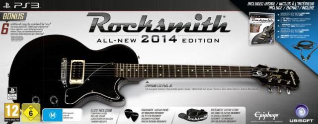 Rocksmith 2014 + Guitare PS3