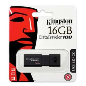 Clé USB 3.0 Kingston Data Traveler 100 G3 16GO
