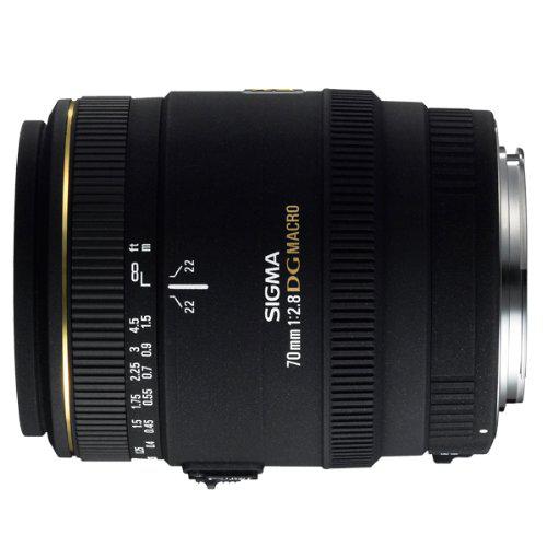 Objectif en promo - Ex : Objectif Sony Sigma 70mm f/2,8 Macro DG EX Ø62
