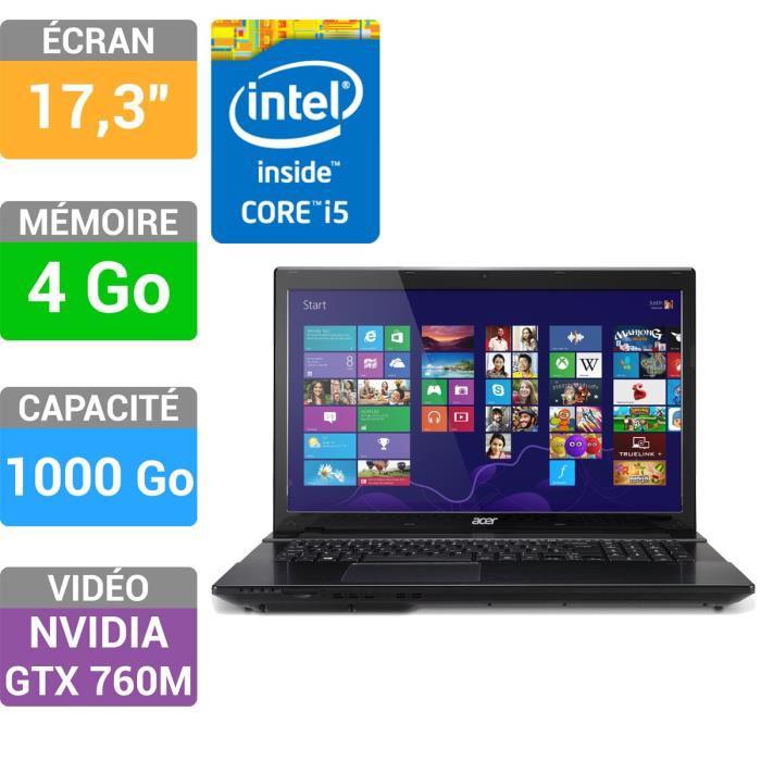 Pc portable Acer Aspire V3-772G (Avec ODR de 70€)