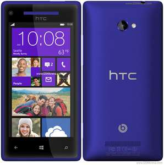 HTC 8X bleu (Windows Phone 8) débloqué