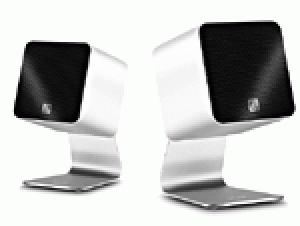Hauts-Parleurs compactes portables Ultralink UCube par UFi Blanc, noir, gris ou rouge