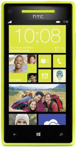 Smartphone HTC 8X Jaune