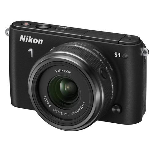 Nikon 1 S1 Noir + Objectif 11-27.5 mm