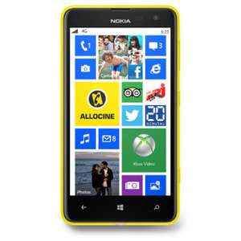 Smartphone Nokia Lumia 625 jaune