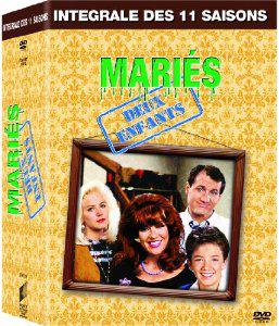 Coffret DVD Intégrale de Mariés deux enfants  (11 saisons)