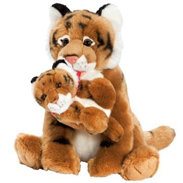 Sélection enfant - Ex : Peluches maman tigre et son bébé