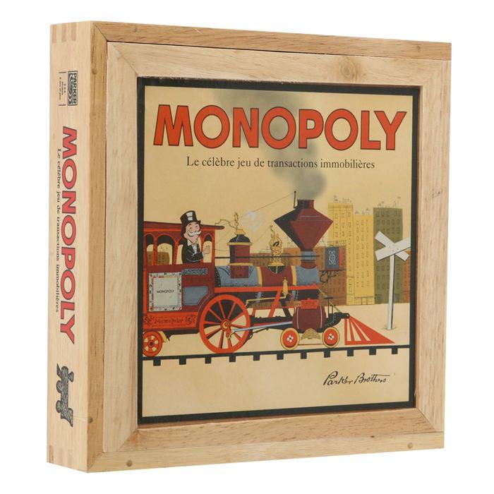 Monopoly série Nostalgie en bois