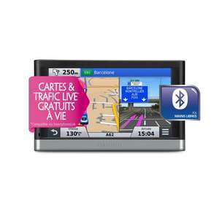 GPS Garmin nüvi 2567 LMT - Carte gratuite à vie (Avec 30€ d'ODR)