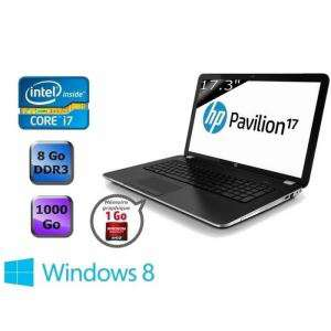 Pc portable HP Pavilion 17-e090sf - I7-3632QM 8Go 1TO Radeon HD 8670M (Avec ODR 50€)