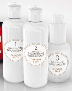 Coffret mystère shampoing gratuit