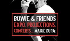 """""""Bowie & Friends"""" : Exposition, concerts, projections... gratuites"""