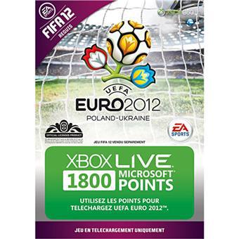 Carte 1800 Points Microsoft