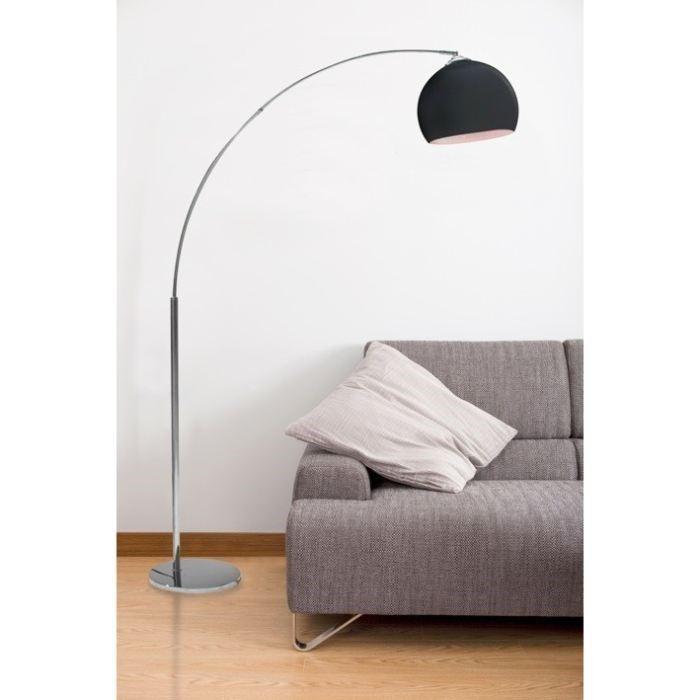 Sélection de lampadaires en promo. Ex : Lampadaire Desi Arc 166 cm