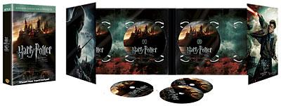 Coffret Blu-ray 2D/3D Harry Potter et les reliques de la mort, 1e et 2e partie (6 Blu-ray)
