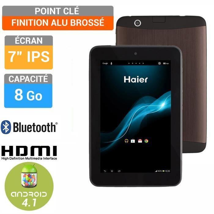 "Tablette 7"" Haier Pad 722 IPS ARM Cortex A9 Dual Core 1,6Ghz (50€ ODR)"