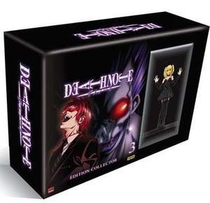 Coffret DVD Death Note Volume 3 (Episodes 25 à 37) - Edition Limitée Inclus la Figurine