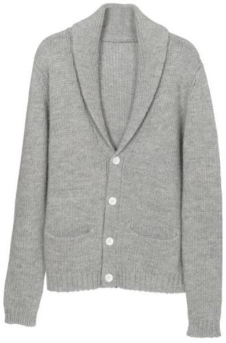 Gilet American Vintage - Col châle 100% laine