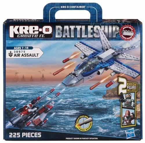 70% de réduction sur une sélection de jouets Kre-o - Ex : Battleship Air Assault