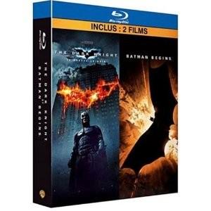 Coffret Blu-ray Batman Begins + Batman The Dark Knight