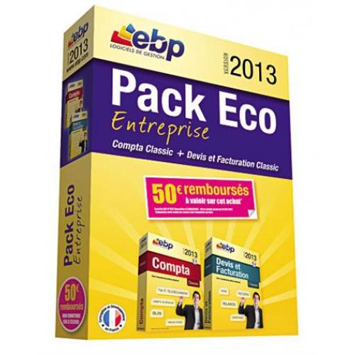 -90% sur une sélection de Logiciels EBP. Ex : PACK ECO ARTISANT DU BATIMENT 2013