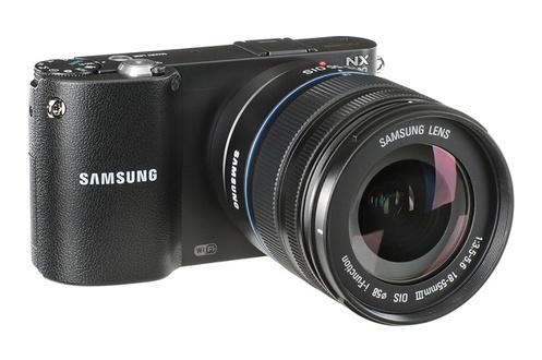 Appareil photo hybride Samsung NX1100 + Objectif 18-55mm