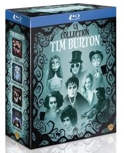 Coffret Blu-ray Tim Burton (4 Films)