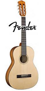 Guitare classique Fender Classic ESC105  Natural + Housse