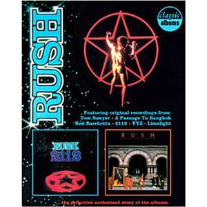 DVD RUSH Classic albums - 2112 and moving pictures