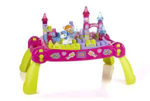 Table Etincelante Mega Bloks First Builders Lil'Princess + Bonus