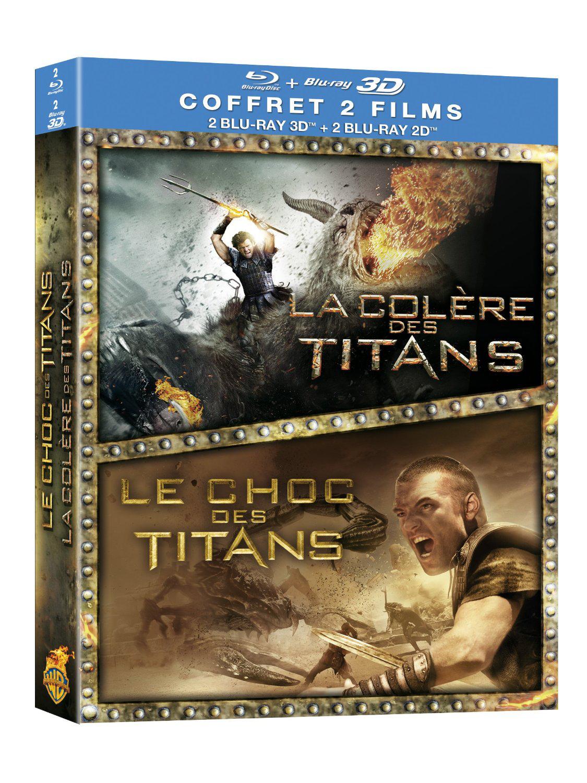 Le Choc des Titans + La Colère des Titans - Boîtier métal - Coffret Blu-ray + Blu-ray 3D