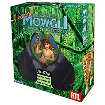 Le livre de la jungle - Flashpop (Lecteur audio préchargé et prêt à l'usage)
