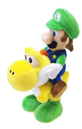Peluche Luigi et Yoshi 22cm