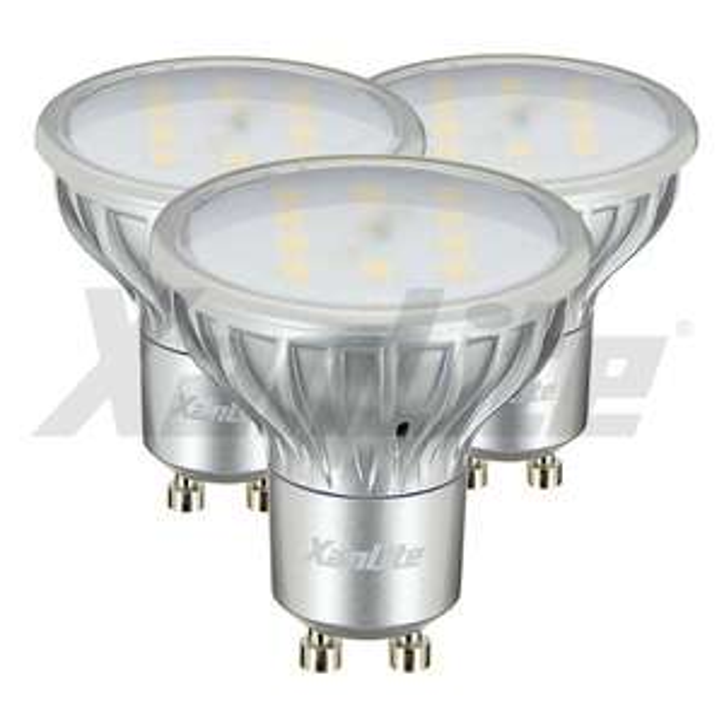 3 ampoules LED Xanlite GU10 180 lumens