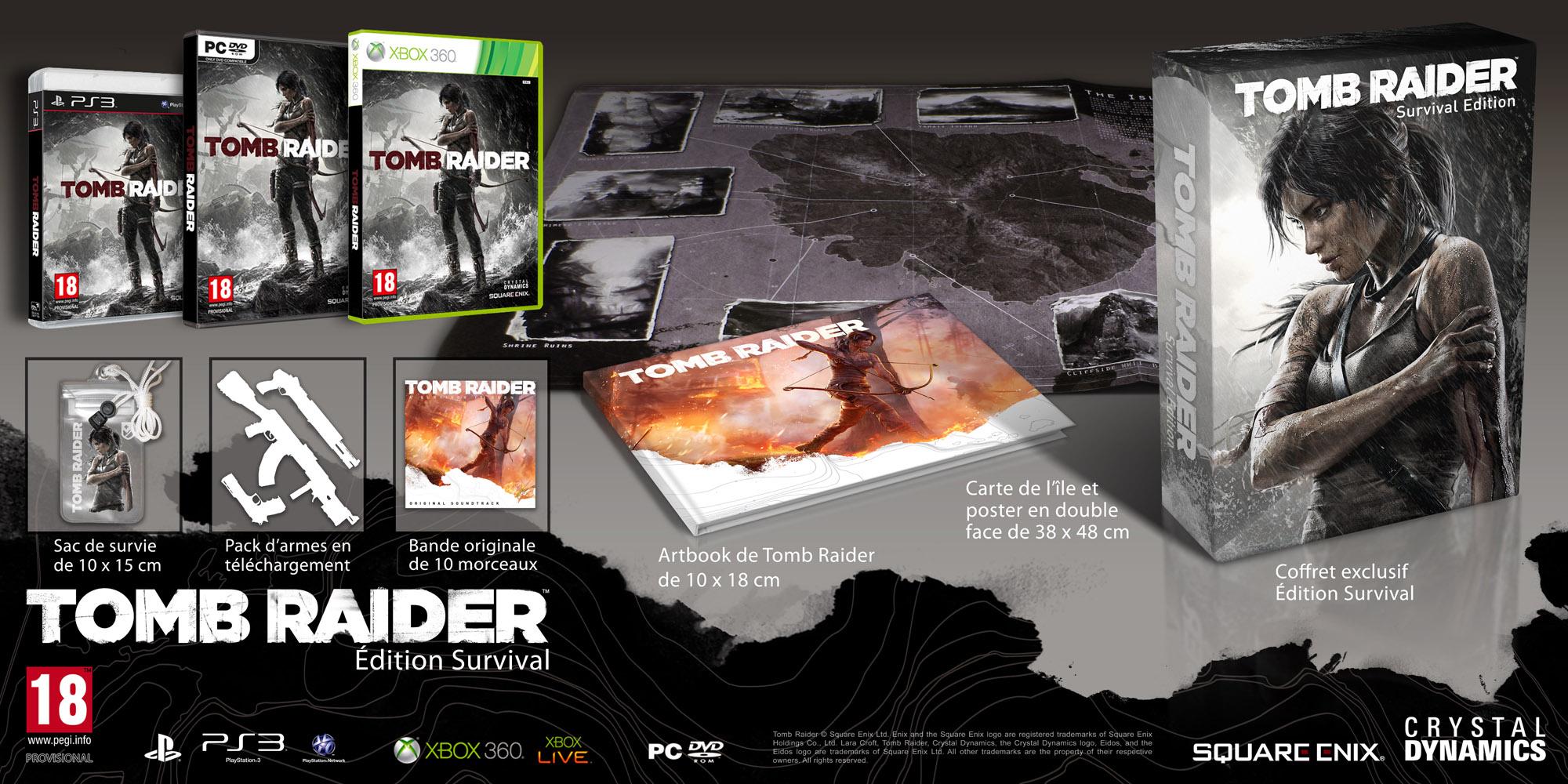 Tomb Raider - Edition Survival