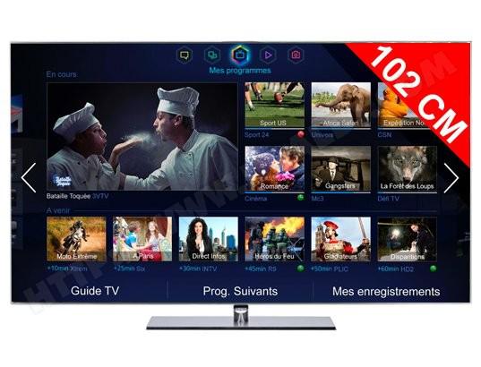 Télévision Samsung UE40F7000 LED 3D (Avec 15% en ODR)