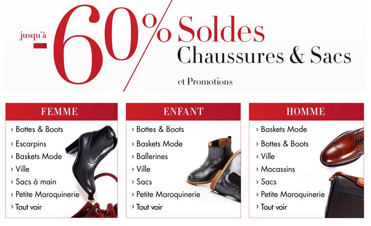 -10% en plus sur les Chaussures, Sacs et Vêtements soldés (2 articles mini)
