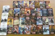 30 romans Warhammer (10kg de lecture)