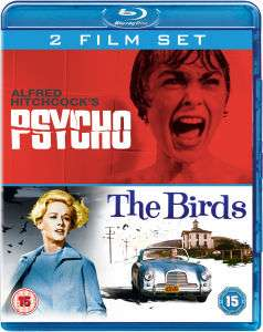 Coffret 2 Blu-Rays Hitchcock : Psycho / les Oiseaux