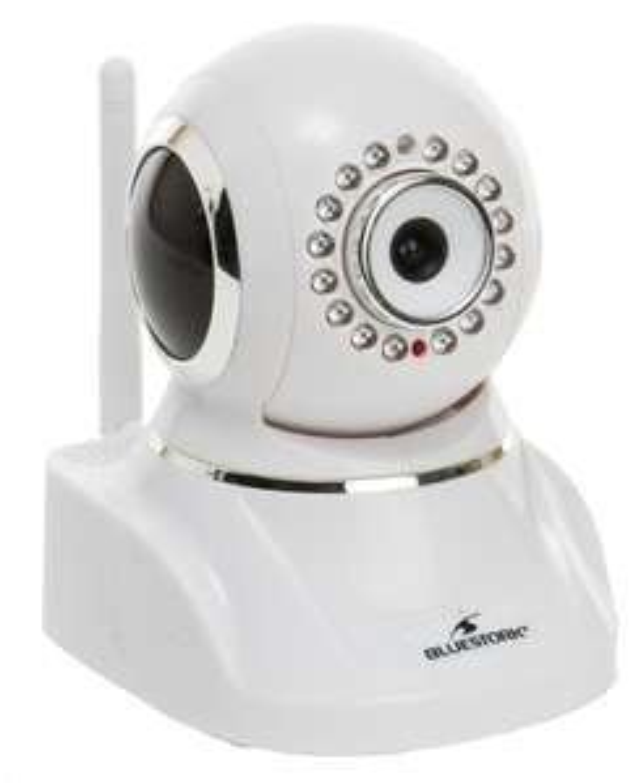 Pack de 2 caméras IP Wi-Fi - Bluestork BS-IPCAM/W2