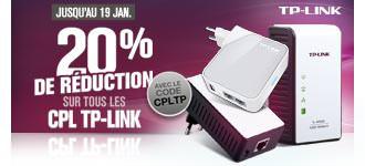 -20% de réduction sur les CPL TP-Link