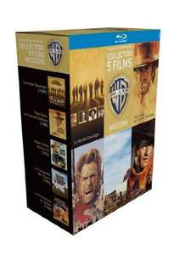 Coffret 5 Blu-ray Warner + 1 magnet collector (3 coffrets différents voir description)