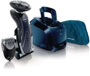 Rasoir SensoTouch 2D Philips - RQ1195/22  avec accessoire tondeuse barbe 5 Hauteurs et Jet Clean System