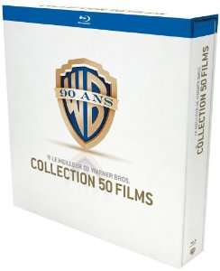 Coffret 90 ans Warner  - Collection 50 films [Blu-ray]
