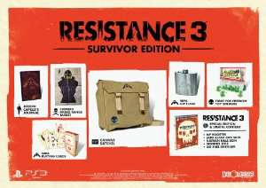 Resistance 3 Edition Collector Survivor sur PS3