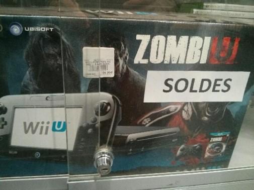 Console Nintendo Wii U 32 Go Pack Zombi U